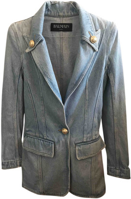 Balmain Blue Denim - Jeans Jackets