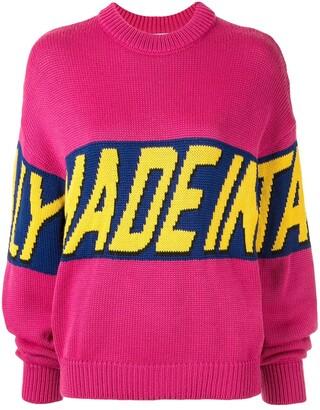 GCDS Barilla jacquard jumper