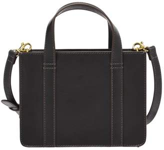 Fossil Maisie Mini Satchel Handbags Black