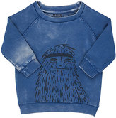 Munster Monster-Print Cotton Sweatshirt