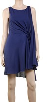 Max Studio Fine Spun Silk & Cotton Jersey Dress