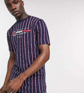 Duke Full Stripe T-Shirt With Chest Print