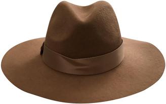 Hotel Particulier Beige Wool Hats