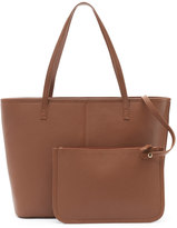 Dana Buchman Parker Leather Tote & Pouch