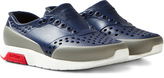 Native Navy Lennox Perforated Trainers
