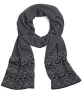 Brooks Brothers Herringbone and Fair Isle Scarf
