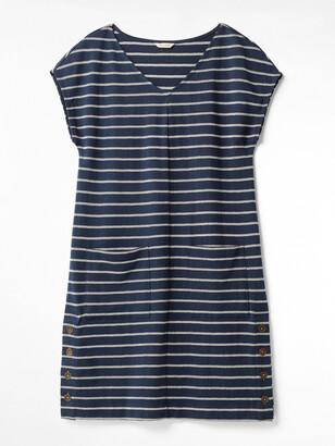 White Stuff Day To Day Stripe Jersey Dress