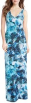 Karen Kane Petite Women's Sea Glass Maxi Dress
