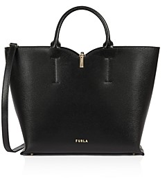 Furla Ribbon Medium Leather Tote