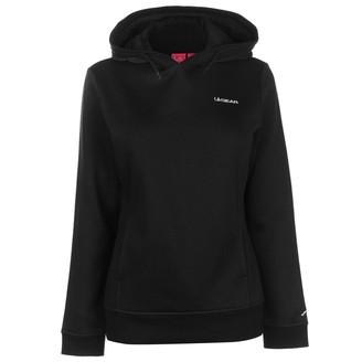 L.A. Gear Womens OTH Hoody Ladies Long Sleeve Casual Hoodie Sweat Top Black 14 (L)