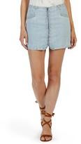 Paige Women's Rosie Hw X Hattie Zip Denim Miniskirt
