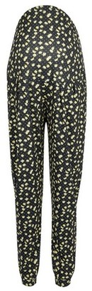 Dorothy Perkins Womens Dp Maternity Black Daisy Print Joggers, Black