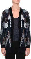 Missoni Flame Knit Open-Front Cardigan