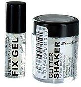 Stargazer Loose Glitter Shaker for Hair& Body with Glitter Fix Gel /Glue