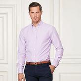 Ralph Lauren Purple Label Striped Cotton Oxford Shirt