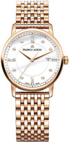 Maurice Lacroix Eliros EL1094-PVP061-501 rose gold-plated and white diamond watch