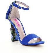 Blue Ankle Strap Heels - ShopStyle