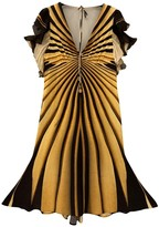 Roberto Cavalli Yellow Dress for Women