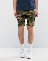 New Era Yankees Jersey Shorts In Camo