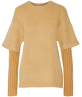 Opening Ceremony Layered wool-blend sweater