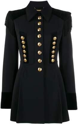 Alberta Ferretti military jacket