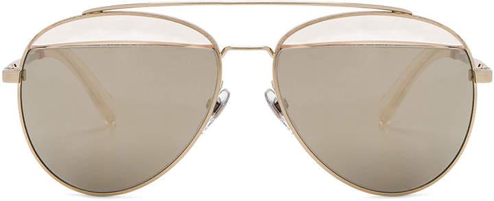 Oliver Peoples x Alain Mikli Aviator Sunglasses