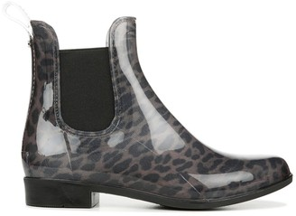 Sam Edelman Tinsley Leopard-Print Rubber Chelsea Boots