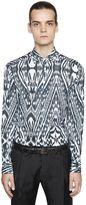 Etro Slim Fit Printed Cotton Muslin Shirt