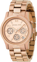Michael Kors MK5128 Runway rose gold-plated watch