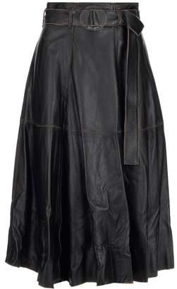 Golden Goose Akemi High Waist A Line Skirt