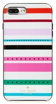 Kate Spade Jeweled Fiesta Stripe Iphone 7 & 7 Plus Case - Ivory