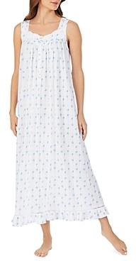 Eileen West Floral Sleeveless Ballet Nightgown