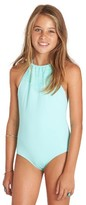 Billabong Girl's Halter One-Piece Swimsuit