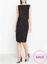Marc Jacobs Glitter Pinstripe Dress