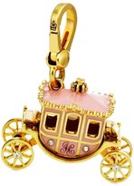 Juicy Couture Princess Carriage Charm - Goldplated Lobster Clasp