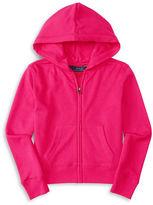 Ralph Lauren Girls 7-16 Zip Up Hoodie