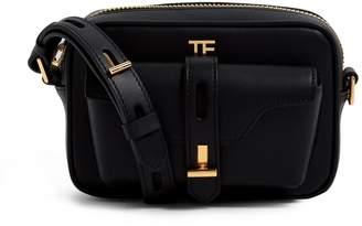 Tom Ford Leather T Twist Camera Bag