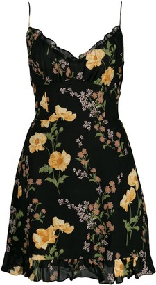 Reformation Esther floral-print mini-dress