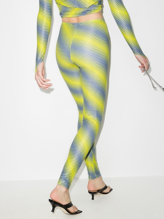 Thumbnail for your product : MAISIE WILEN Diagonal Stripe Print Leggings