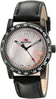 Seapro Women's SP5211 Bold Analog Display Quartz Black Watch