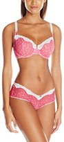 Lunaire Women's St Lucia Stretch Lace Underwire Bra and Hipster Set