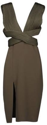 Brandon Maxwell Knee-length dress