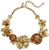 Oscar de la Renta Bold Flower Necklace Necklace