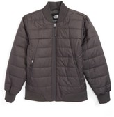 The North Face Boy's Bodenburg Quilted 550-Fill Down Insulated Bomber Jacket
