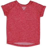7 For All Mankind Girls' Marled French Terry Top - Sizes S-XL