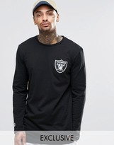 Majestic Raiders Long Sleeve T-shirt Exclusive To Asos