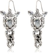 Emanuele Bicocchi Swarovski Crystal Earrings