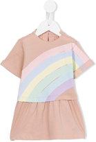 Stella McCartney rainbow print Jess dress