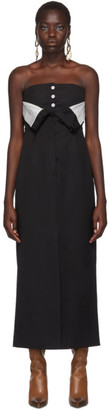 Acne Studios Black Dagila Tuxedo Dress