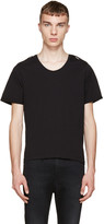 Pierre Balmain Black Epaulet T-Shirt
